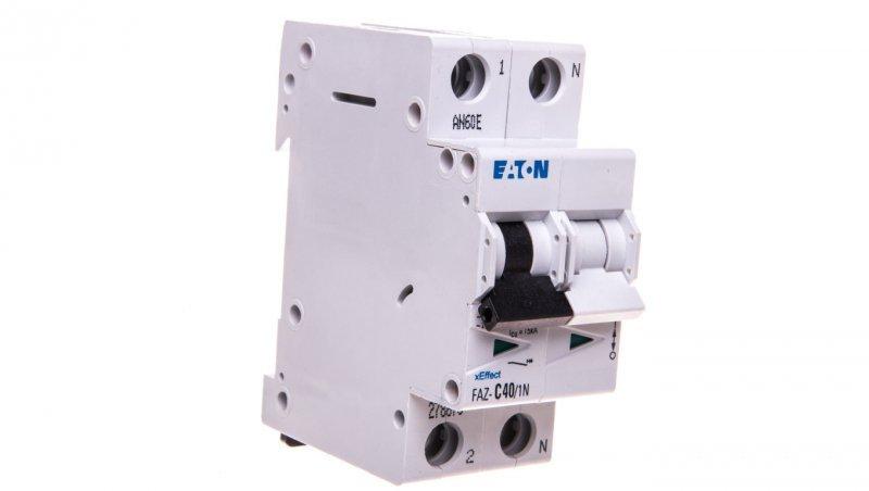 Wyłącznik nadprądowy 1+N C 40A 15kA AC FAZ C40/1N 278678