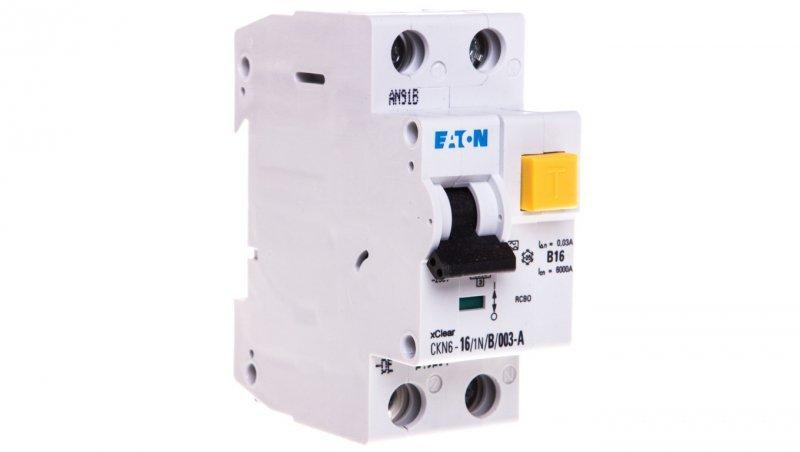 Wyłącznik różnicowo-nadprądowy 2P 16A B 0,03A typ AC PKNM 16/1N/B/003 236200