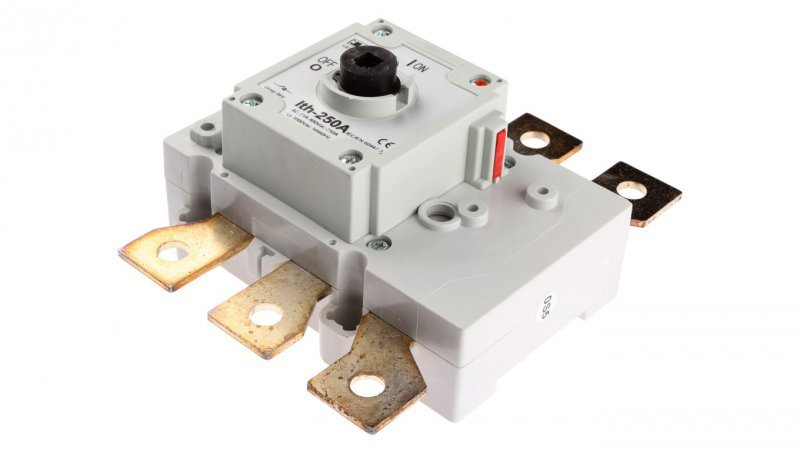 Rozłącznik izolacyjny 3P 250A bez pokrętła GE0250