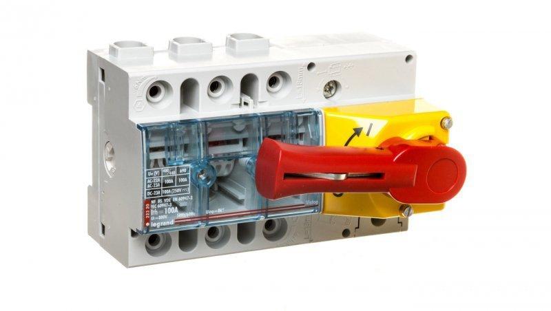 Rozłącznik izolacyjny 3P 100A VISTOP /frontowy czerwony/ 022320