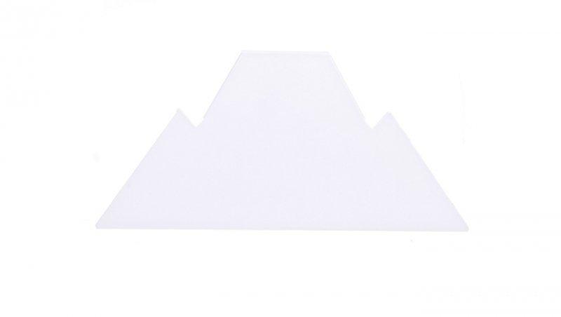 Końcówka tworzywo biała POKER LS PX1903108