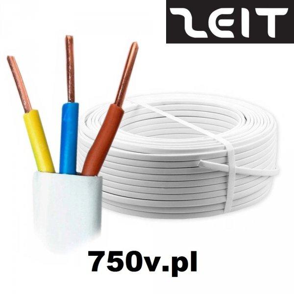 Przewód YDYp 3x2,5 żo 450/750V 100m ZEIT