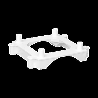 Podstawa do miniwieży ST do kanałów podłogowych DCS czysta biel