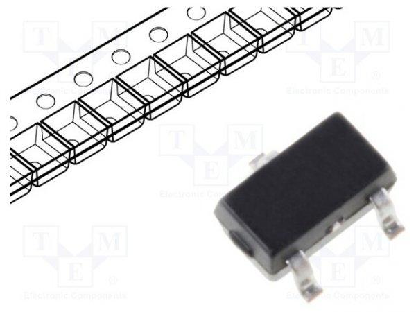 Dioda: przełączająca; SMD; 250V; 0,2A; 50ns; SOT323; Ufmax: 1V; 250mW