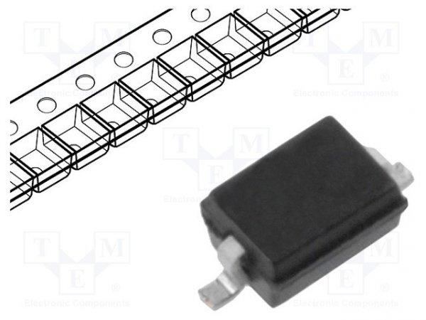 Dioda: przełączająca; SMD; 100V; 250mA; 4ns; SOD323; Ufmax: 1,25V