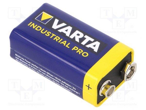 Bateria: alkaliczna; 9V; 6F22; Industrial PRO; nieładowalna