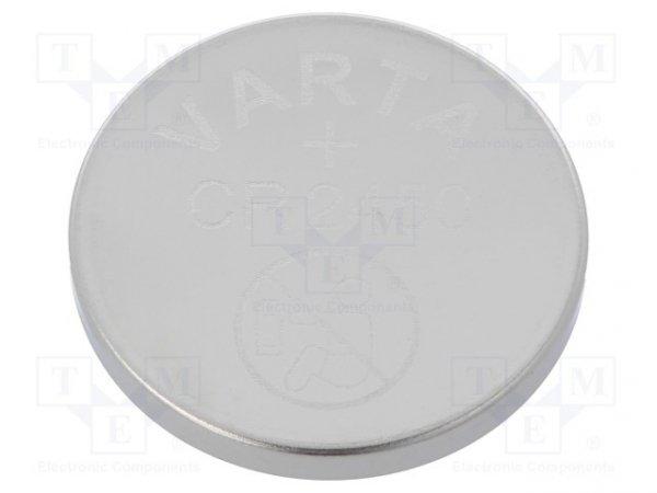 Bateria: litowa; 3V; CR2450,pastylkowa; Ø24x5mm; 590mAh