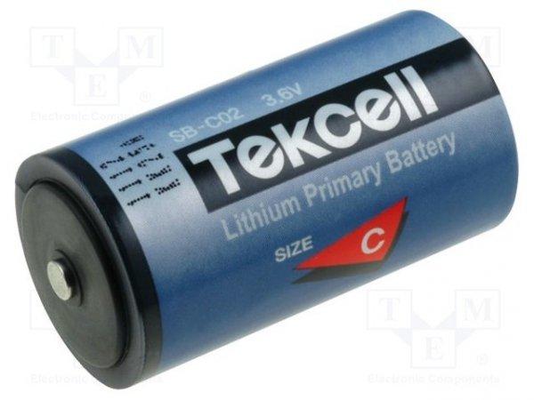 Bateria: litowa; 3,6V; C; Ø25,6x49,5mm; 8500mAh; nieładowalna