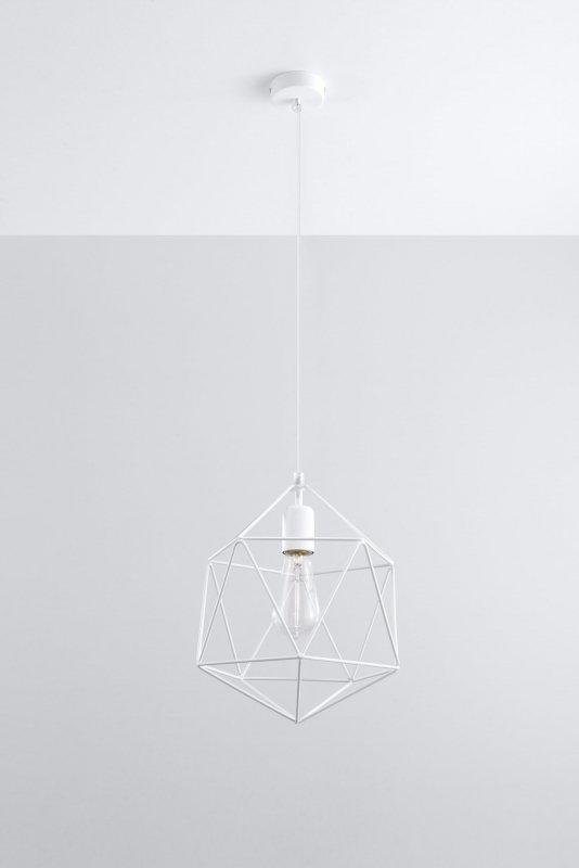 Lampa Wisząca GASPARE Biała