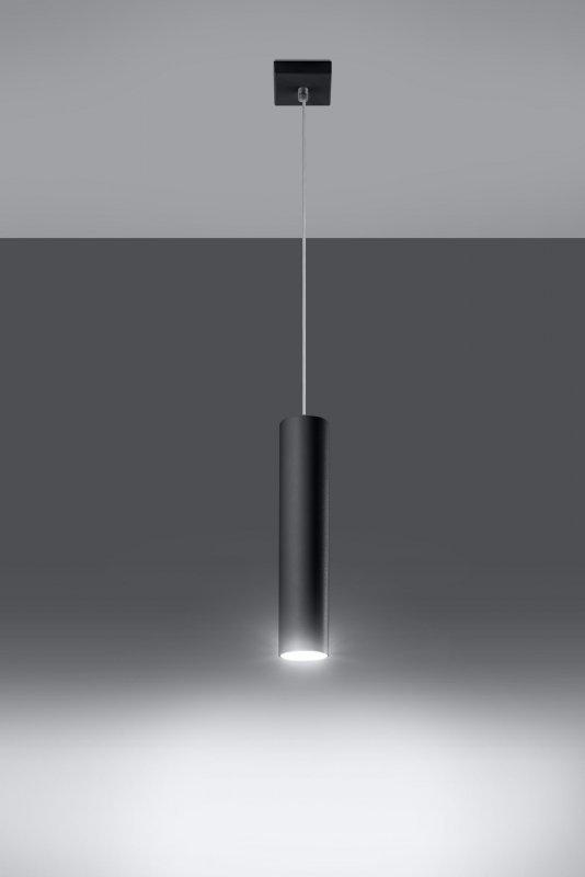 Lampa Wisząca LAGOS 1 Czarny