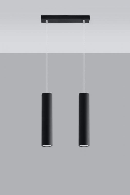 Lampa Wisząca LAGOS 2 Czarny