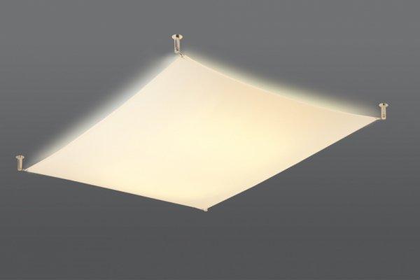 Plafon LUNA 3 biały