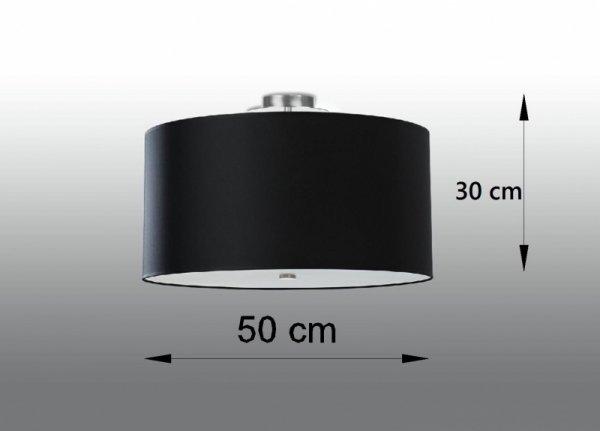 Plafon OTTO 50 czarny