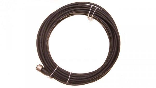 Przewód ze złączem żeńskim M12 4-pinowe proste z kablem 10m XZCP1141L10