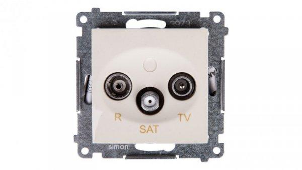 Simon 54 Gniazdo antenowe RD/TV/SAT końcowe kremowe DASK.01/41