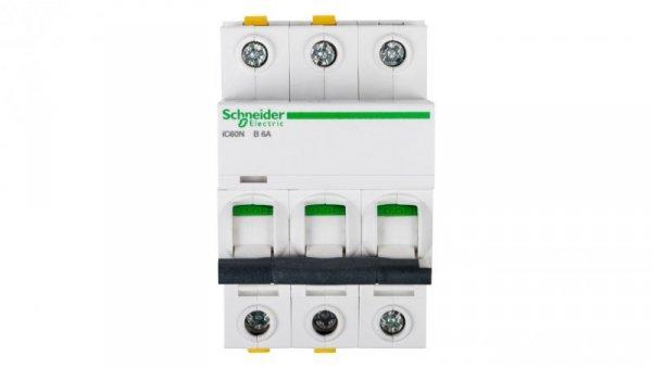 Wyłącznik nadprądowy 3P B 6A 6kA AC iC60N-B6-3 A9F03306
