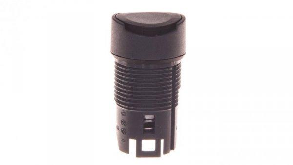 Napęd przycisku czarny bez podświetlenia z samopowrotem ZB6AA2