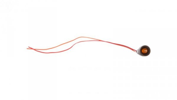 Lampka sygnalizacyjna LED 10mm pomarańczowa Klp10O/24V 84410008