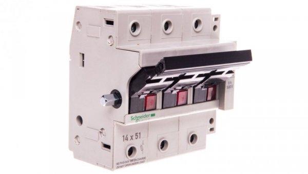Rozłącznik bezpiecznikowy cylindryczny 3P 14x51mm GK1EK