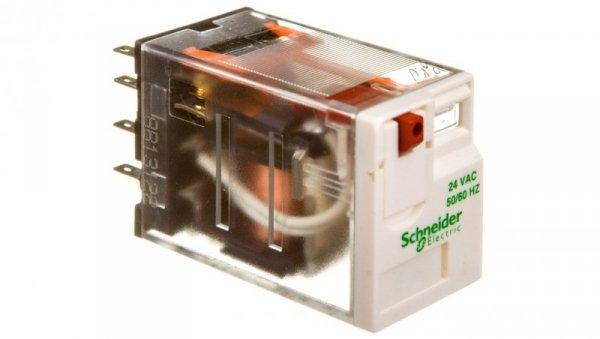 Przekaźnik miniaturowy 4P 6A 24V AC AgNi RXM4AB1B7