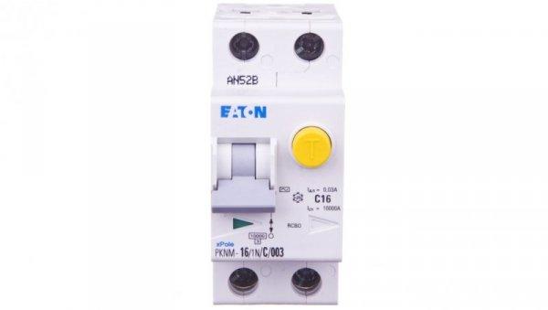 Wyłącznik różnicowo-nadprądowy 2P 16A C 0,03A typ AC PKNM 16/1N/C/003 236212