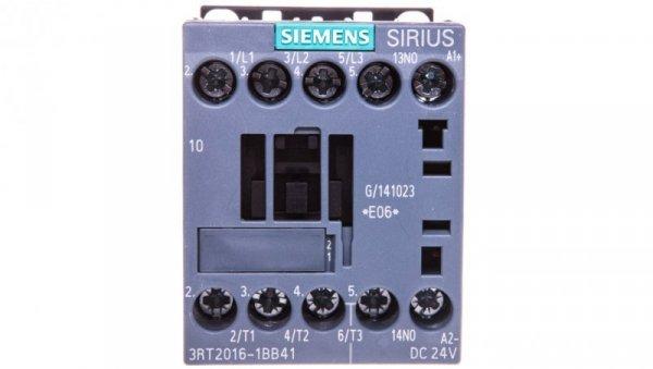 Stycznik mocy 9A 3P 24V DC 1Z 0R S00 3RT2016-1BB41