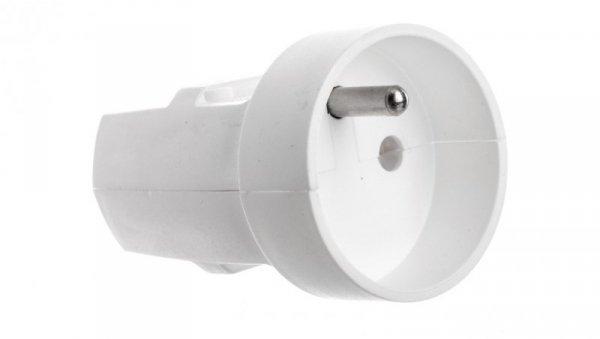 Gniazdo przenośne z/u 16A 250V białe G-10