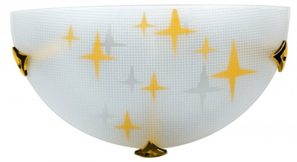 STARS PLAF 1/2 1X60W E27 AMBRA