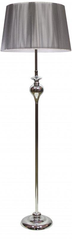 GILLENIA LAMPA PODŁOGOWA 1X60W E27 SREBRNA