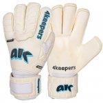 Rękawice 4keepers Champ Aqua Contact IV RF + płyn czyszczący biały 9