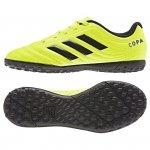 Buty adidas Copa 19.4 TF J F35457 żółty 38