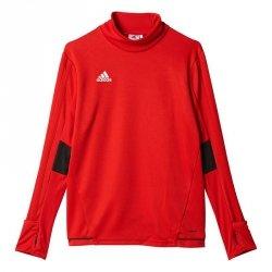 Bluza adidas Tiro 17 TRG TOP BQ2754 czerwony 140 cm