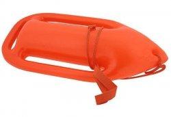 Deska do pływania boja 50x23 cm pomarańczowy