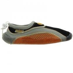 Buty plażowe neoprenowe dziecięce pomarańczowy 30
