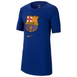Koszulka Nike FC Barcelona B NK Tee Evergreen Crest CD3199 455 S (128-137cm) niebieski