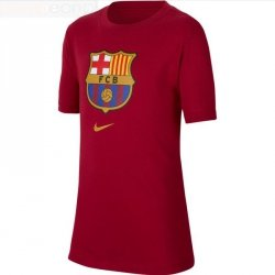 Koszulka Nike FC Barcelona B NK Tee Evergreen Crest CD3199 620 L (147-158cm) czerwony