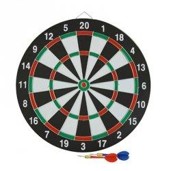 Tarcza dart sizalowa 38 cm + 6 rzutek