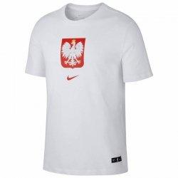 Koszulka Nike Poland Tee Evergreen Crest CU9191 100 biały L