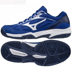 Buty siatkarskie Mizuno Cyclone Speed 2 Junior V1GD191020 34 niebieski