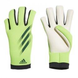 Rękawice adidas X GL Training J FS0417 zielony 7