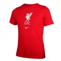 Koszulka Nike Liverpool FC Big Kids' Soccer T-Shirt CZ8249 687 S (128-137cm) czerwony