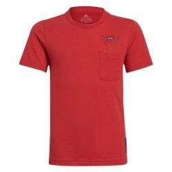 Koszulka adidas Manchester United Kids Tee GR3881 czerwony 152 cm