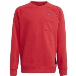 Bluza adidas Manchester United Kids Crew Sweat GR3885 czerwony 152 cm