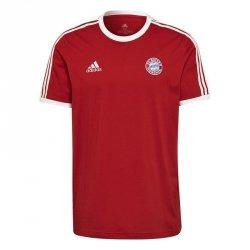 Koszulka adidas FC Bayern 3-Stripes Tee GR0687 czerwony L