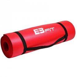 Mata do fitnessu NBR 180x60x1,5 czerwony 180x60cm