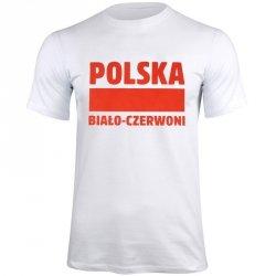 Koszulka Polska Biało-Czerwoni biały S337909 biały M