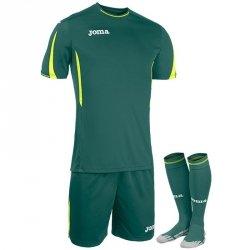 Komplet Joma Roma zielony M