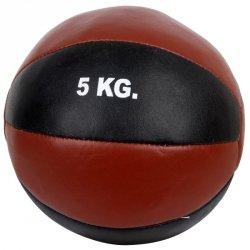 Piłka lekarska 5 kg czarny