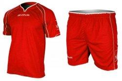 Komplet Givova Capo KITC07-0012 czerwony XL
