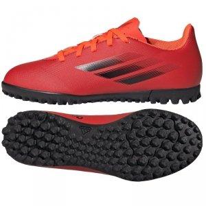 Buty adidas X Speedflow.4 TF J FY3327 czerwony 36